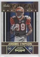 Jerome Simpson /25