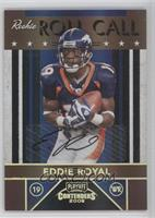 Eddie Royal /25