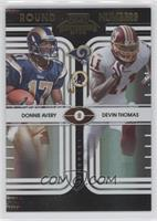 Devin Thomas, Donnie Avery /50