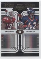 Tim Hightower, Ryan Torain /50