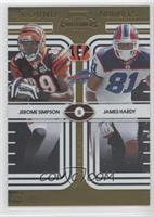 James Hardy, Jerome Simpson /100