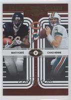 Matt Forte, Chad Henne /500