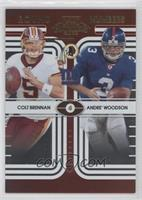 Colt Brennan, Andre' Woodson /500
