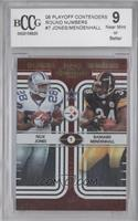 Rashard Mendenhall, Felix Jones /500 [ENCASED]