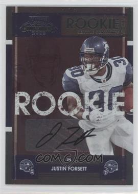2008 Playoff Contenders #159 - Justin Forsett
