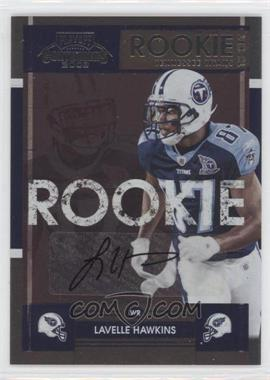 2008 Playoff Contenders #167 - Lavelle Hawkins