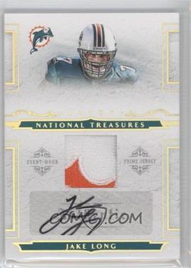 2008 Playoff National Treasures - [???] #134 - Jake Long /25
