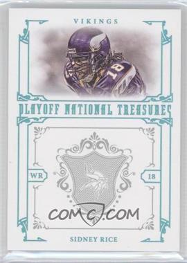 2008 Playoff National Treasures - [???] #66 - Sidney Rice /1