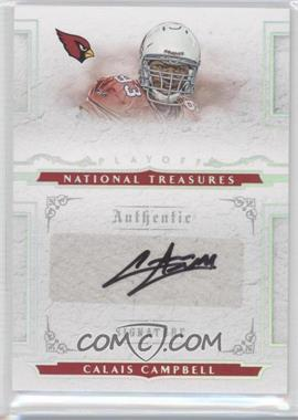 2008 Playoff National Treasures - [Base] #142 - Calais Campbell /99
