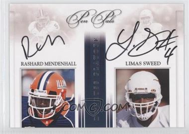 2008 Playoff National Treasures [???] #PP-RMLS - Rashard Mendenhall, Limas Sweed