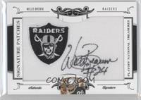 Willie Brown /26