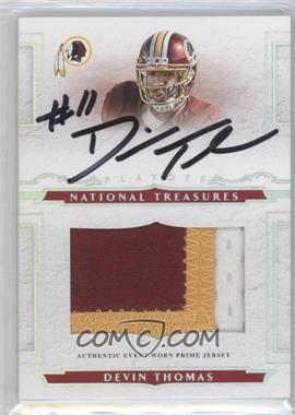 2008 Playoff National Treasures #119 - Devin Thomas /99