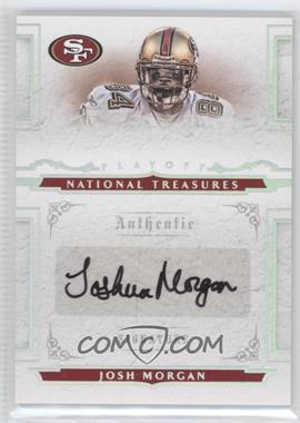 2008 Playoff National Treasures #165 - Josh Morgan /99