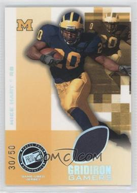 2008 Press Pass - Gridiron Gamers - Holofoil #GG-MH - Mike Hart /50
