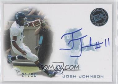 2008 Press Pass - Signings - Blue #PPS-JJ - Josh Johnson /50