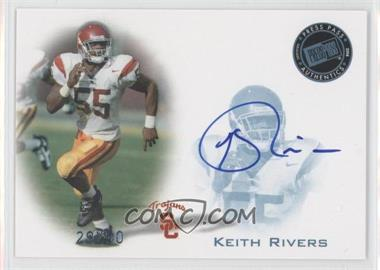 2008 Press Pass - Signings - Blue #PPS-KR - Keith Rivers /50