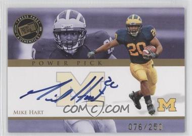 2008 Press Pass [???] #MH - Mike Hart /250