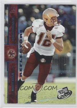 2008 Press Pass Blue Reflectors #12 - Matt Ryan