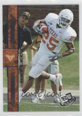 2008 Press Pass Blue Reflectors #14 - Jamaal Charles