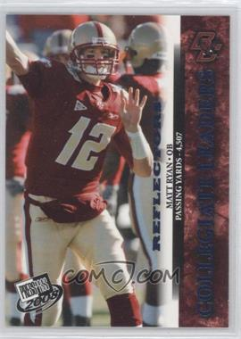 2008 Press Pass Blue Reflectors #59 - Matt Ryan