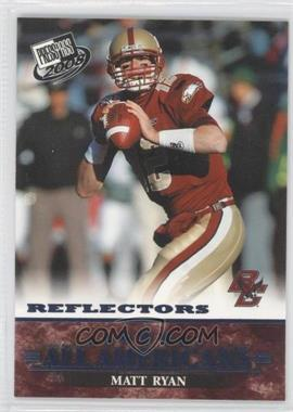 2008 Press Pass Blue Reflectors #84 - Matt Ryan
