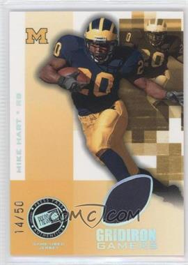 2008 Press Pass Gridiron Gamers Holofoil #GG-MH - Mike Hart /50