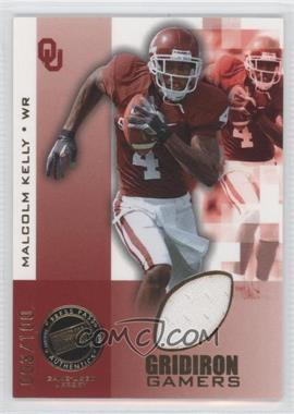 2008 Press Pass Gridiron Gamers #GG-MK - Malcolm Kelly /100