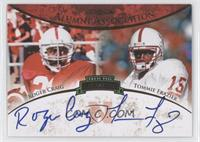 Roger Craig, Tommie Frazier /50
