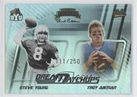 Steve Young, Troy Aikman /250