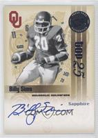 Billy Sims /71