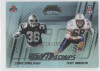 Chris Spencer, Tedy Bruschi /250