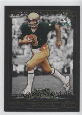 2008 Press Pass Legends Gold #75 - Joe Montana /99