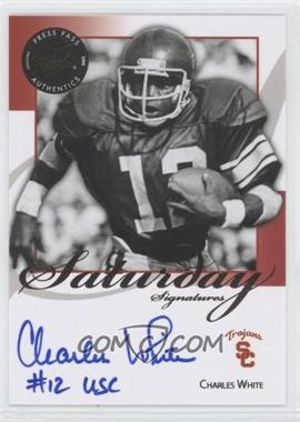 2008 Press Pass Legends Saturday Signatures #SS-CW - Charles White