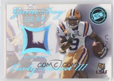 2008 Press Pass SE - Game Day Gear - Blue #GDG-ED - Early Doucet /25