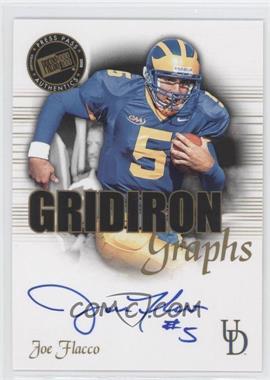 2008 Press Pass SE - Gridiron Graphs #GG-JF - Joe Flacco