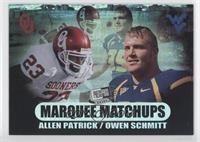 Owen Schmitt, Allen Patrick