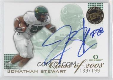 2008 Press Pass SE Class of 2008 Autographs Blue Ink [Autographed] #CL-JS - Jonathan Stewart /199