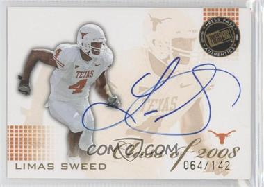 2008 Press Pass SE Class of 2008 Autographs Blue Ink [Autographed] #CL-LS - Limas Sweed /142