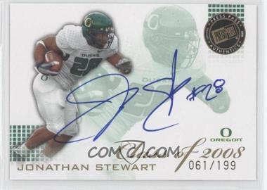 2008 Press Pass SE Class of 2008 Autogrphs [Autographed] #CL-JS - Jonathan Stewart /199