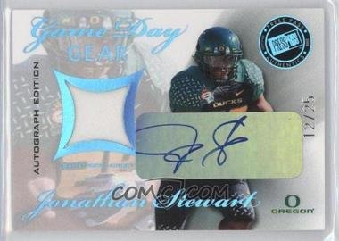 2008 Press Pass SE Game Day Gear Autographs [Autographed] #GDG-JS - Jonathan Stewart /25