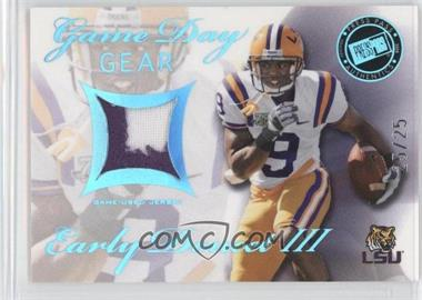 2008 Press Pass SE Game Day Gear Blue #GDG-ED - Early Doucet /25