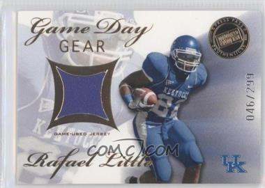 2008 Press Pass SE Game Day Gear Gold #GDG-RL - Rafael Little /299