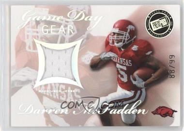 2008 Press Pass SE Game Day Gear Holofoil #GDG-DM - Darren McFadden /99