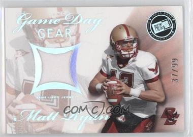 2008 Press Pass SE Game Day Gear Holofoil #GDG-MR - Matt Ryan /99