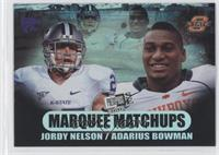 Jordy Nelson, Adarius Bowman