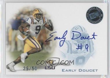 2008 Press Pass Signings Blue #PPS-ED - Early Doucet /50