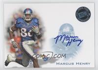 Marcus Henry /50