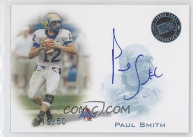 2008 Press Pass Signings Blue #PPS-N/A - Paul Smith /50