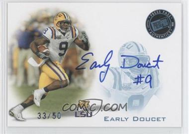 2008 Press Pass Signings Blue #PPS-PPS-ED - Early Doucet /50