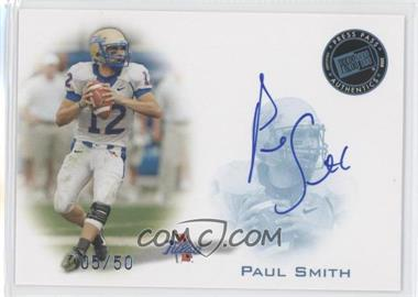 2008 Press Pass Signings Blue #PPS-PS - Paul Smith /50